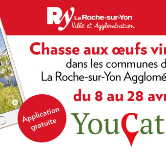 YouCatch chasse aux oeufs 2019