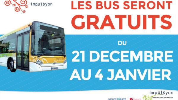 bus gratuits la Roche-sur-Yon
