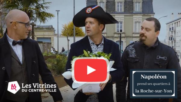 web série Napoléon prend ses quartiers à la Roche-sur-Yon épisode 2